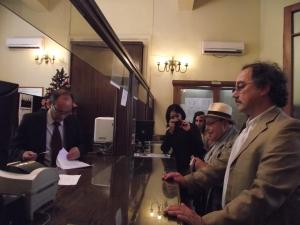 Historiador S. Grez y Vicario pastoral mapuche