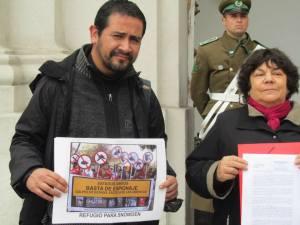 Pablo Ruiz de la CECT y Alicia Lira, Presidenta de AFEP