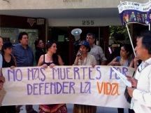Berta Caceres Santiago Chile (Foto Olca)