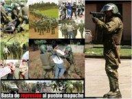 Resultado de imagen para represion al pueblo mapuche
